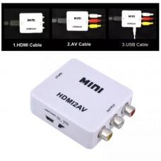/ CT-ACHDAV :  CONVERTIDOR HDMI A ANALOGO CVBS C/AUDIO