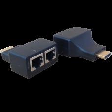 CT-EXPH30: CONECTOR EXTENSOR HDMI PASIVO PARA UTP