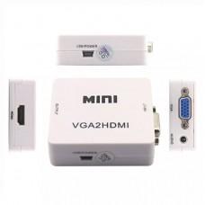 / CT-ACAVHD: CONVERTIDOR VGA A HDMI  1080P C/AUDIO
