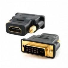 CONECTOR HDMI HEMBRA A DVI MACHO