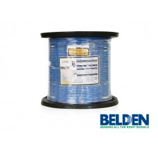 BD-2412-0061000: BELDEN CABLE UTP CAT6 4X2/23 CMR, AZUL CARRETE 305M.