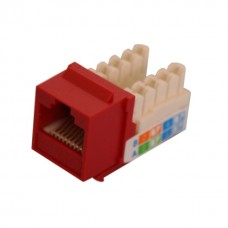 QT-NKJ-6402: JACK RJ45 CAT6 TOOLESS 90 GRADOS COLOR AZUL