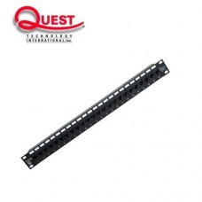/ QT-NPP-6024:  PANEL DE PARCHEO 24 PUERTOS 1U RACK CAT6
