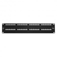 / QT-NPP-6048:  PANEL DE PARCHEO 48 PUERTOS 2U RACK CAT6